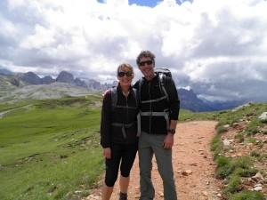 Die Gastgeber Jutta und Thomas