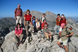Gourmetwandern Gipfelfoto!