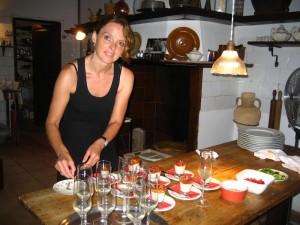 Jutta, la cocinera