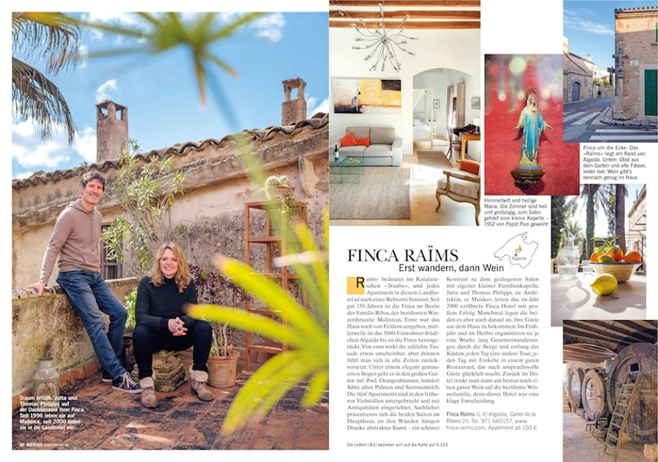 Merian Magazin Finca Raims