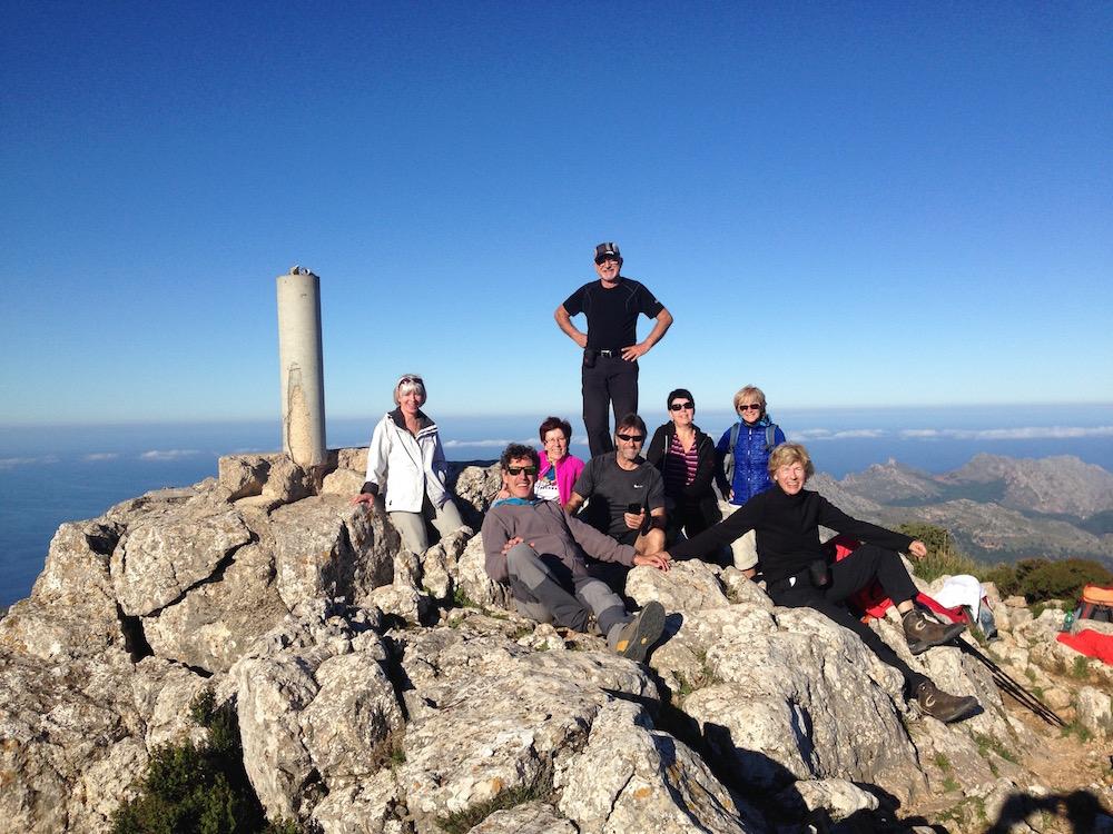 Wanderurlaub Mallorca - Auf dem Tomir